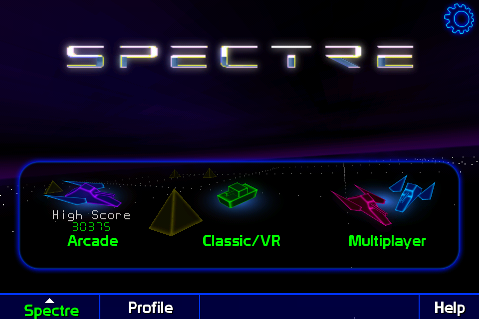 Screenshot Spectre 3D Lite